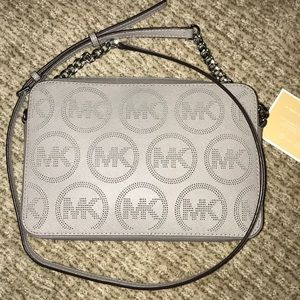 Michael Kors East West Jet Set Perforated Logo